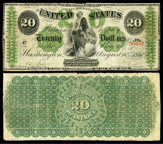 $20 Demand Note