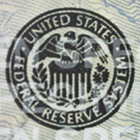 sello de la Reserva Federal del billete de $50