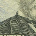 impresión en relieve del billete de $50
