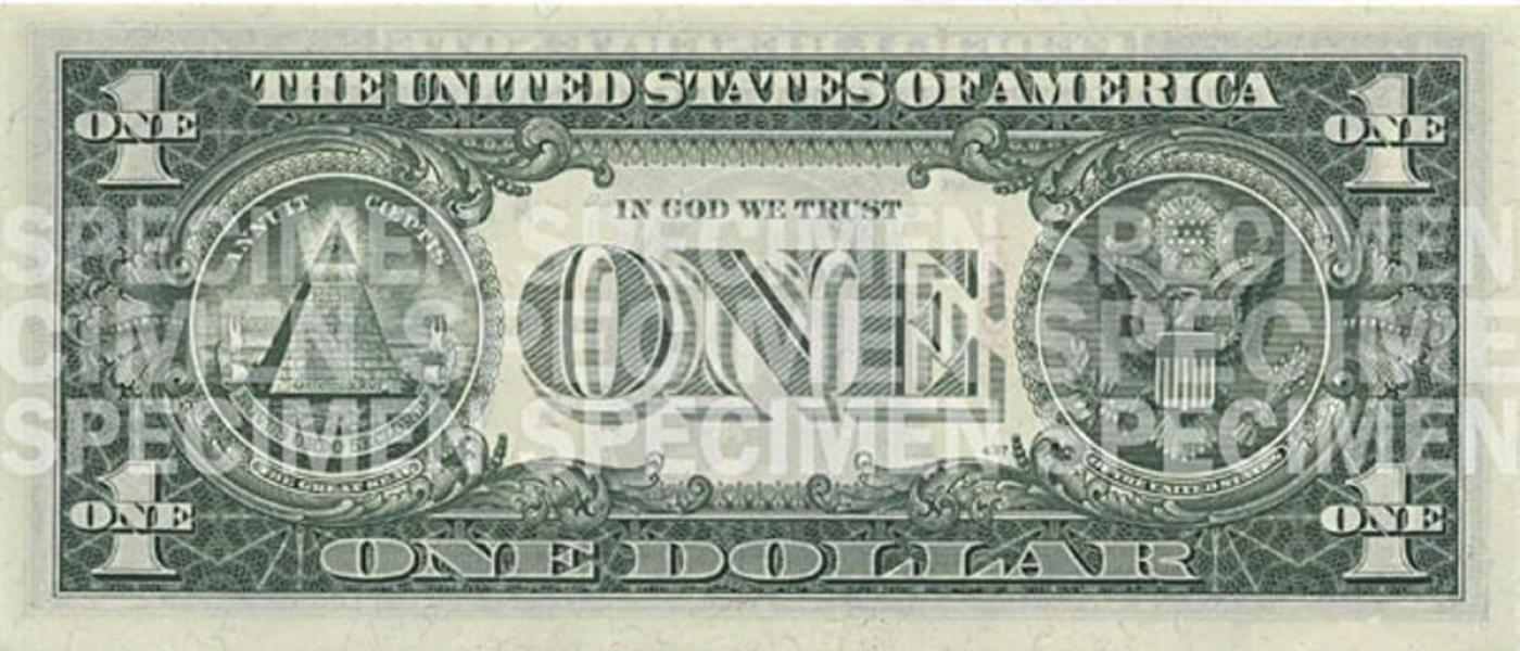 picture about Printable Play Money $1 identified as $1 Be aware U.S. Forex Schooling Application