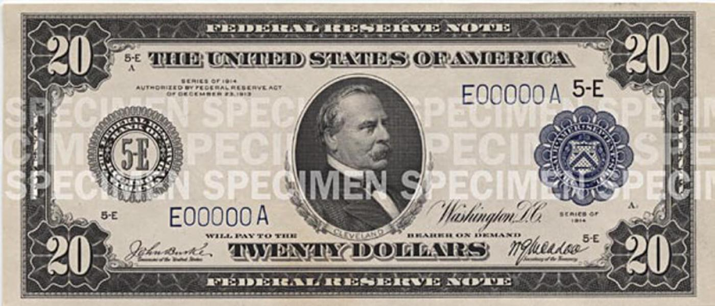 $20 Note | U S  Currency Education Program