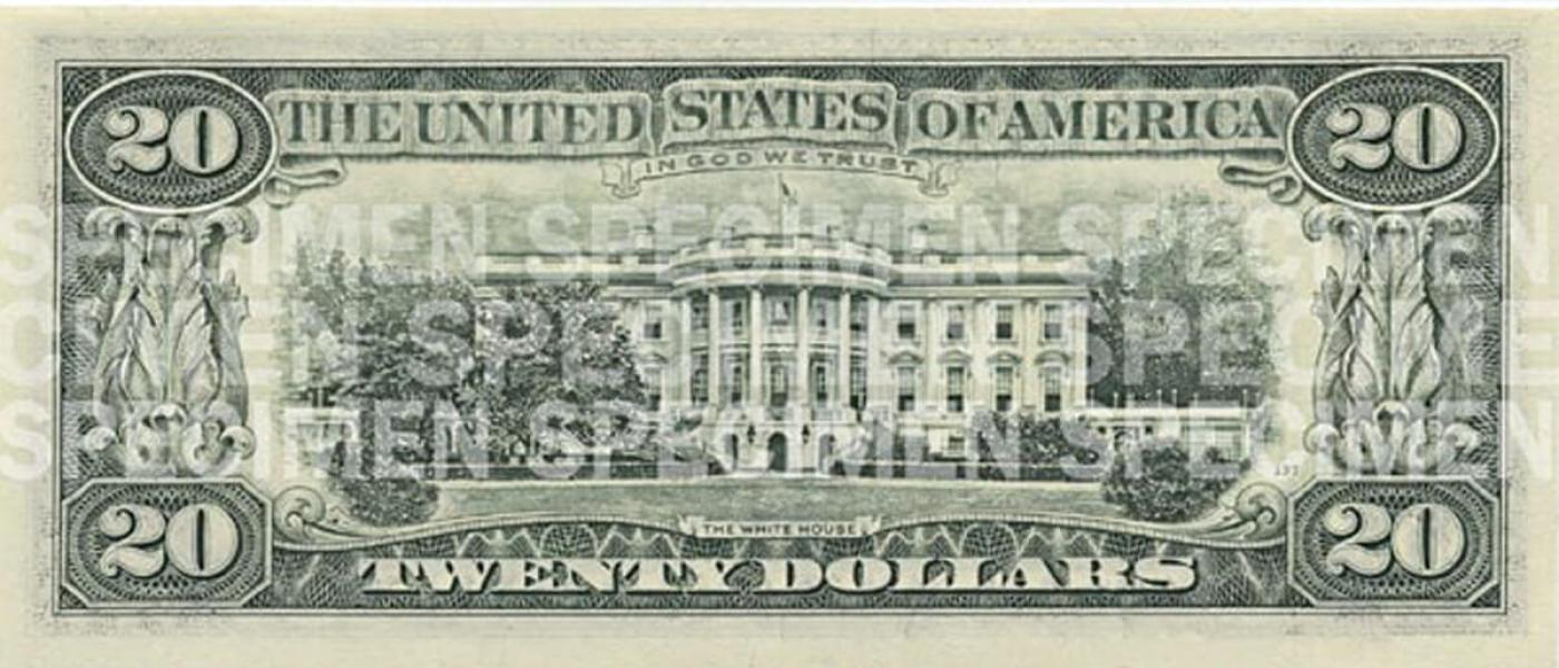 $20 Note   U S  Currency Education Program