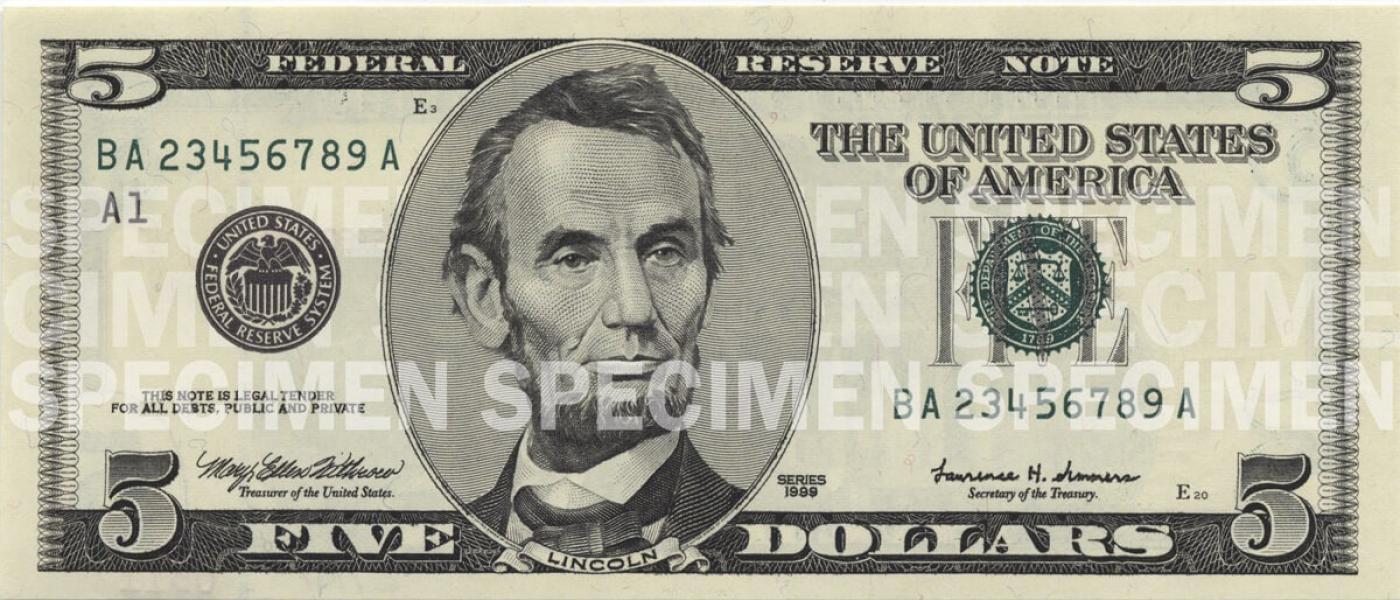 5 U S Currency Education Program