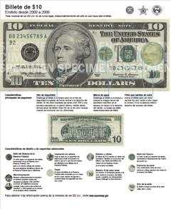 $10 Note (2000-2006)