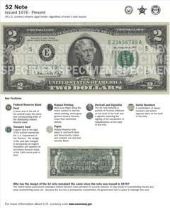 $2 Note | U S  Currency Education Program