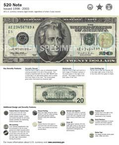 $20 Note (1998-2003)
