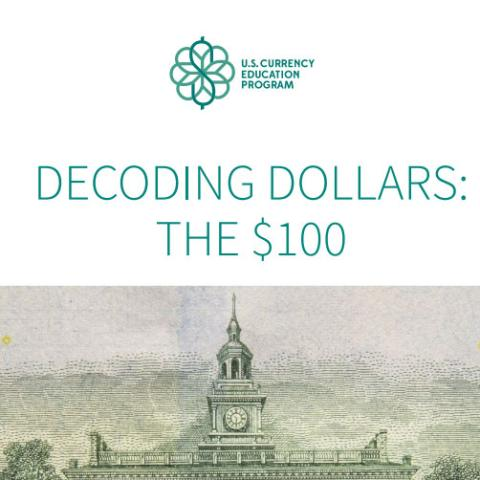 Decoding Dollars: the $100 Brochure & Poster