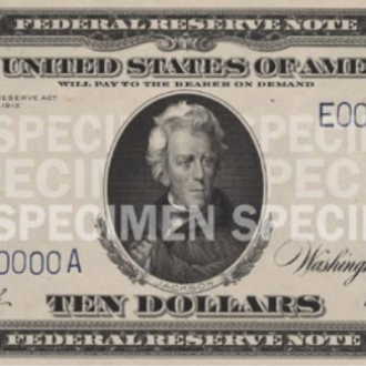 $10 Note (1914-1990)