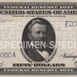 $50 Note (1914-1990)